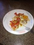 eggs with veggies